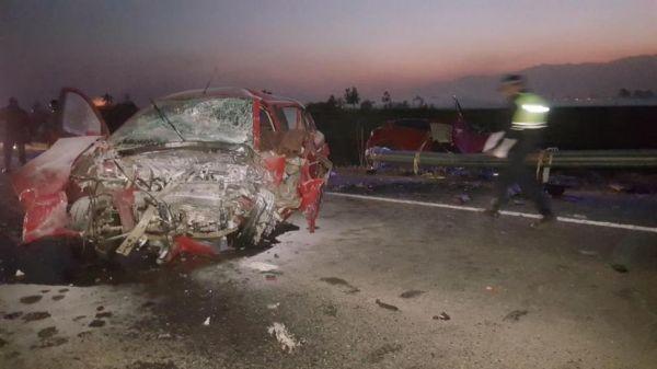 Trágico choque en ruta 38: cuatro personas fallecieron